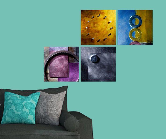 Modern Tablo 4 parçalı tablolar