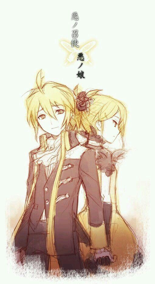 Story of evil Rin y Len kagamine