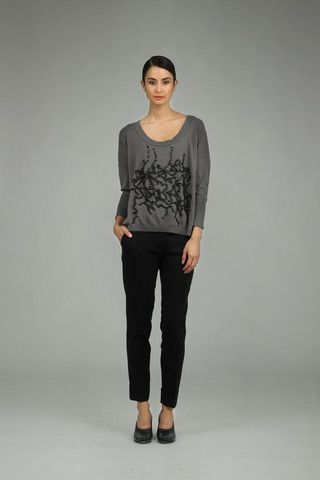 Taylor 'Incision' Collection, Summer 13/14   www.taylorboutique.co.nz Taylor - Beaded Sweater