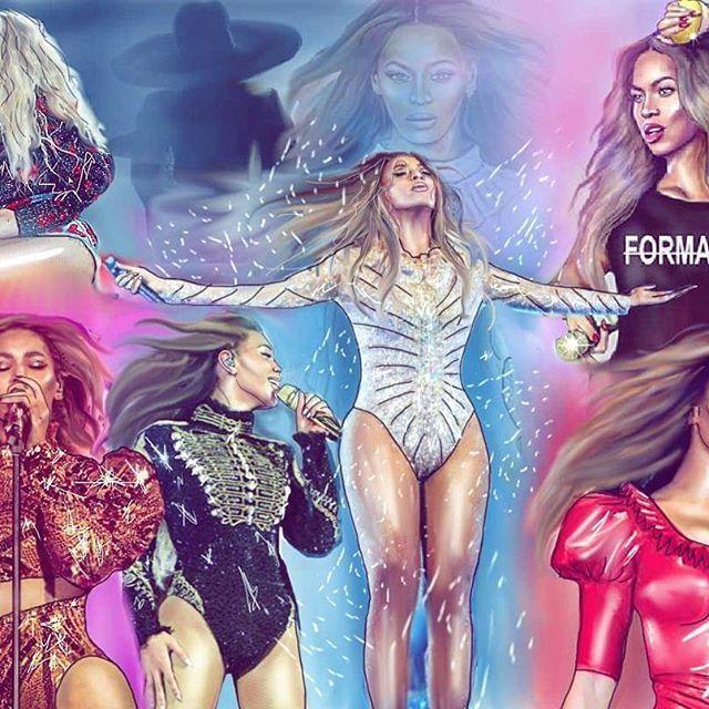 Beyoncé Formation World Tour Art