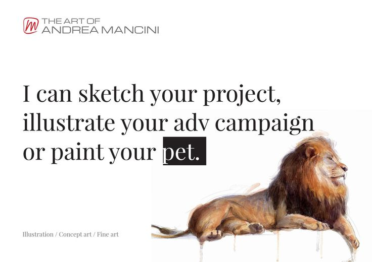 The Art of Andrea Mancini