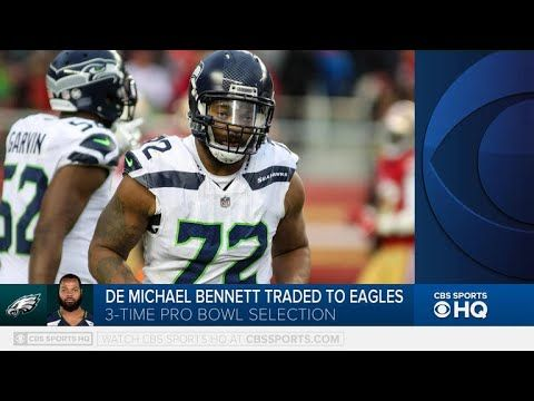 Seahawks trade Michael Bennett to Eagles  Pete Prisco joins Tommy Tran to discuss the Seahawks trade of Michael Bennett to the Eagles. Subscribe to this channel      (adsbygoogle = wi...