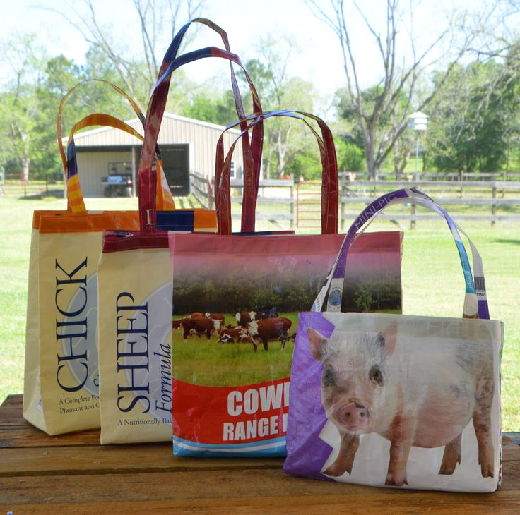 Feed Bag Tote Tutorial | Creative Country Life