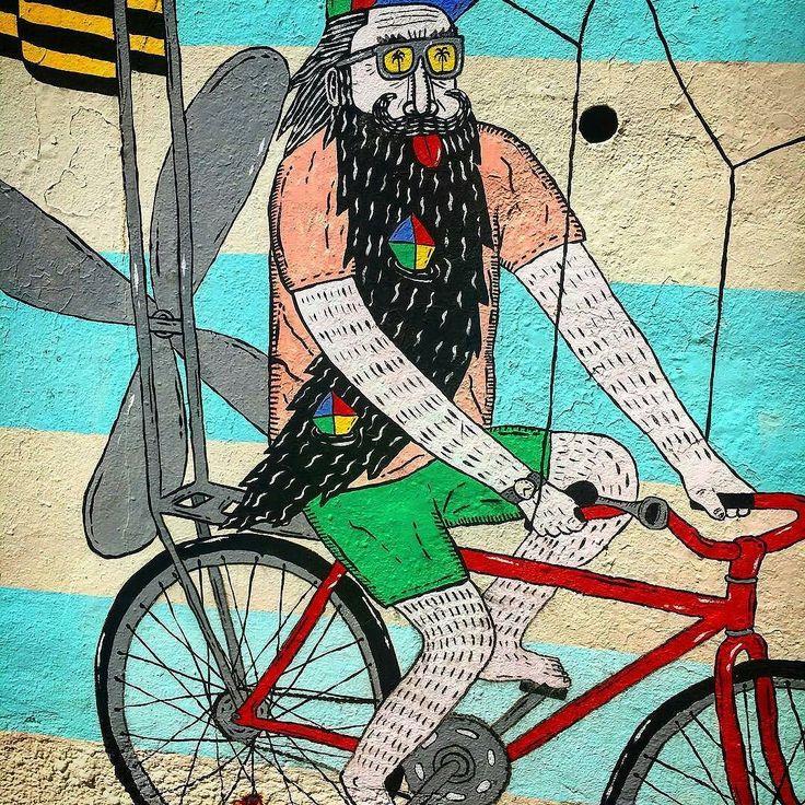 Regram from @mrseanfinlay -  A bit of local #bondibeach #streetart down #bondi #mulgatheartist