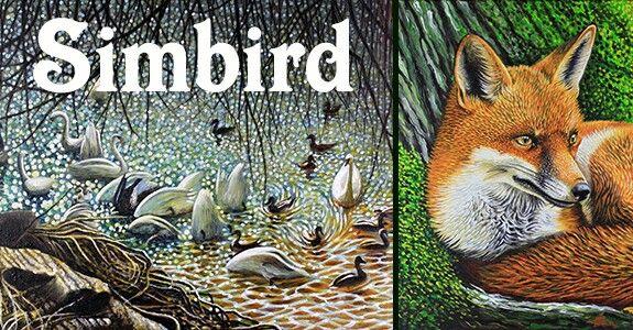 simbird.com #art wildlife Artist * Simon Knott