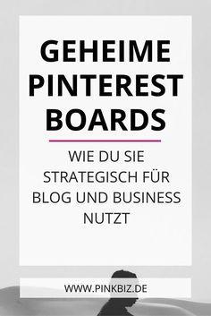 Pssst … geheim! Geheime Pinnwände sind ein tolles Pinterest-Feature! Erfahre, mit welchen fünf Möglichkeiten du geheime Pinterest Boards für Blog und Business nutzt.