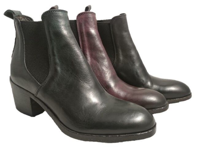 Check out our new Cuban heel boots for women, by Cavallini 2018