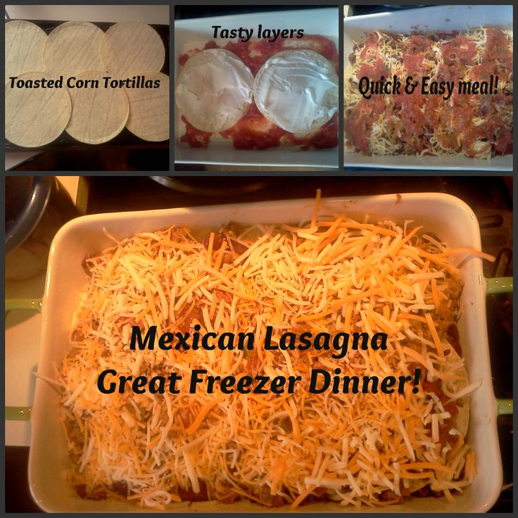 Being Cheap is Easy!: Mexican lasagna recipe. Sounds amaze!Cheap Freezers Meals Recipe, Cheap Mexicans Recipe, Mexicans Lasagna Recipe, Mexicans Food, Cheap Easy Freezers Meals, Cheap And Easy Dinner Ideas, Mmmm Mondays, Mexican Lasagna, Cheap Mexicans Lasagna