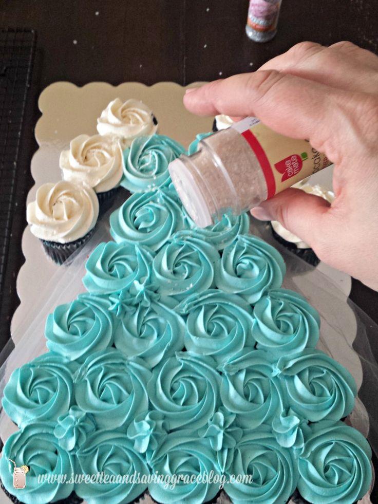 25 Best Ideas About Frozen Cupcake Cake On Pinterest