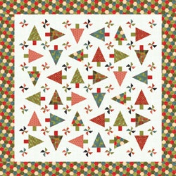 Christmas Quilt Patterns Moda : Trees, Free pattern and Quilt on Pinterest