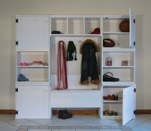 Mudroom Modular Storage : Images about lockers mudroom entryway