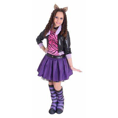 Tam Gg Fantasia Clawdeen Wolf Luxo Monster High Sulamericana - R$ 169,90 no MercadoLivre