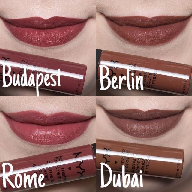 Nyx Soft Matte Lip Cream Berlin Ile Ilgili Gorsel Sonucu