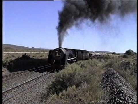South African Railways 25NC Kimberley to De Aar - A Day on the Steel Kyalami - Feb 1997