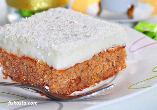 Havuçlu bu harika lezzet Kıbrıs tatlısını mutlaka tatmalısınız.