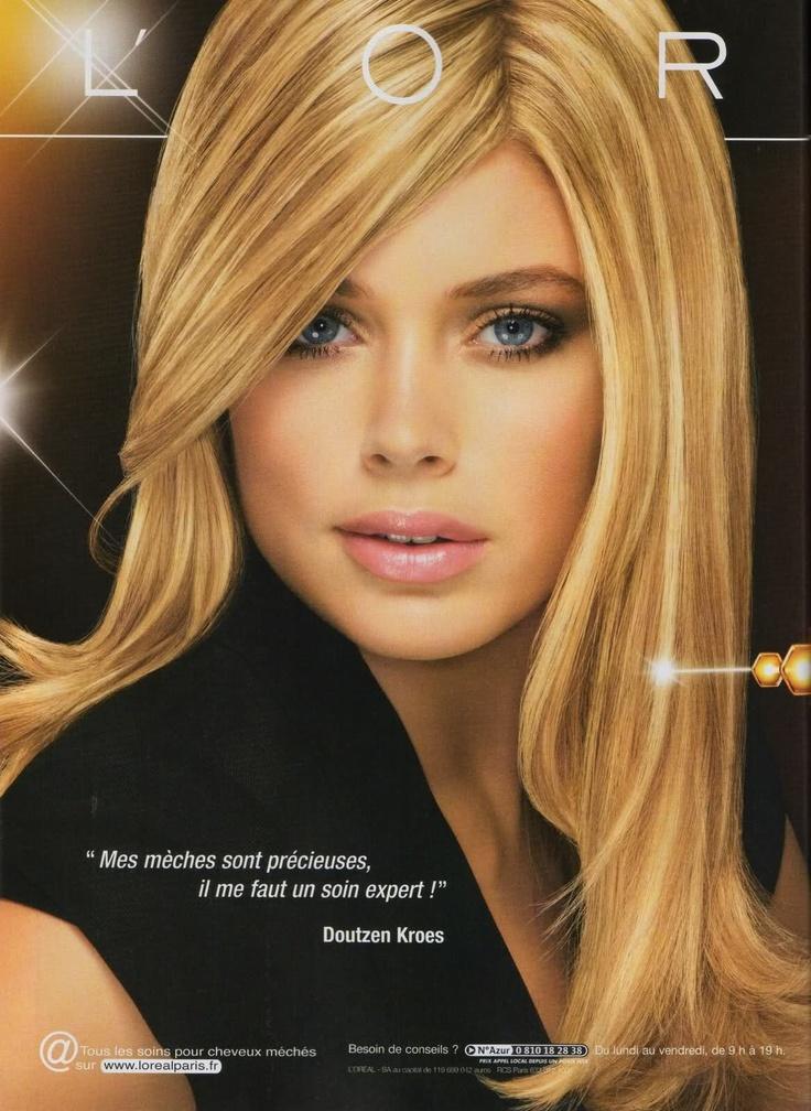 Doutzen Kroes - L'Oreal make-up | Doutzen | Pinterest ...
