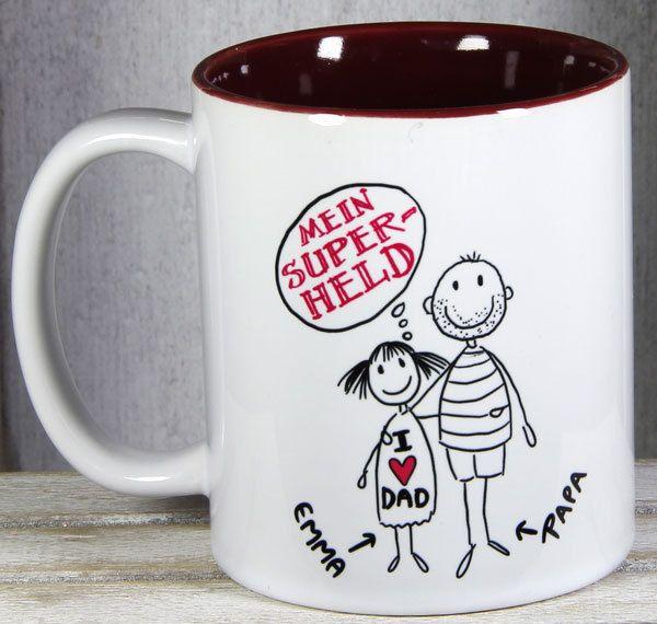 Vatertag, Vatertag-Tassen von My_SweetHeart auf DaWanda.com