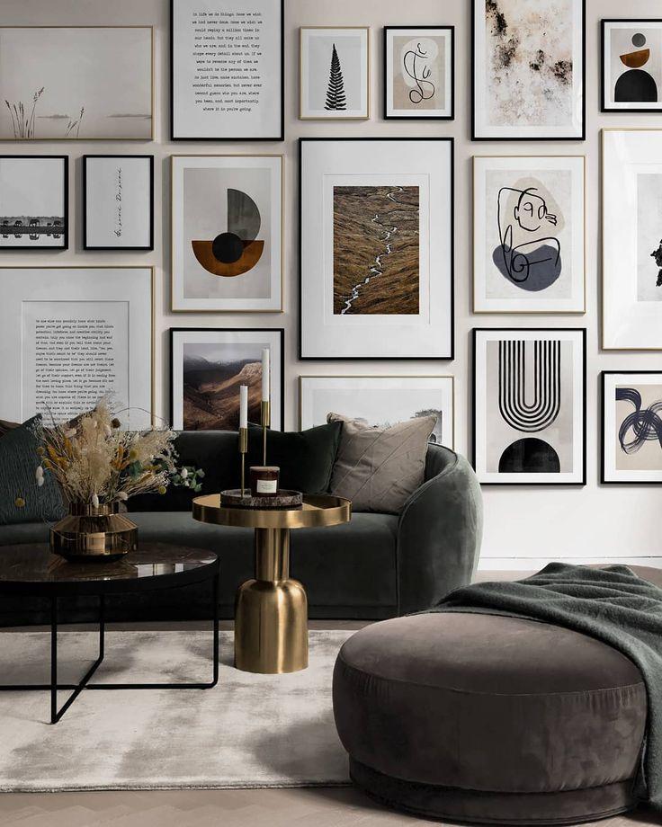 Statement Living Room Decor