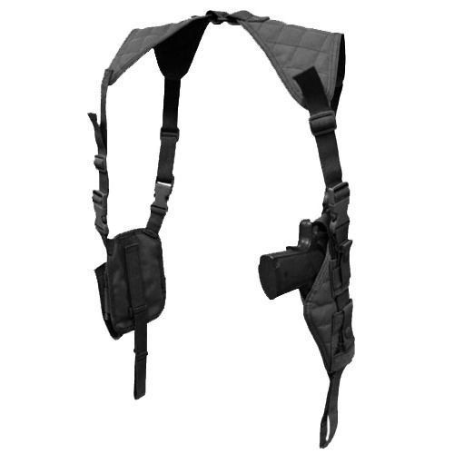 BLACK Vertical Shoulder Holster - Ambidextrous Loading that magazine is a pain! Get your Magazine speedloader today! http://www.amazon.com/shops/raeind