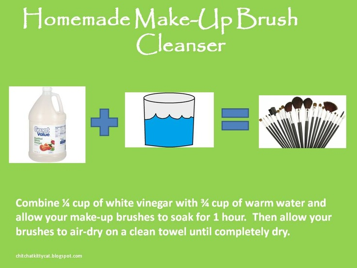 BEST make-up brush cleanser on Pinterest! Pin now, you will be glad you did!