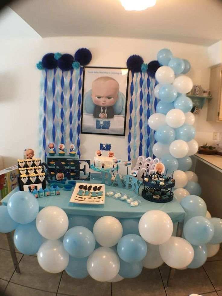 Boss Baby Birthday Party Ideas In 2019 Zo 1st Birthday