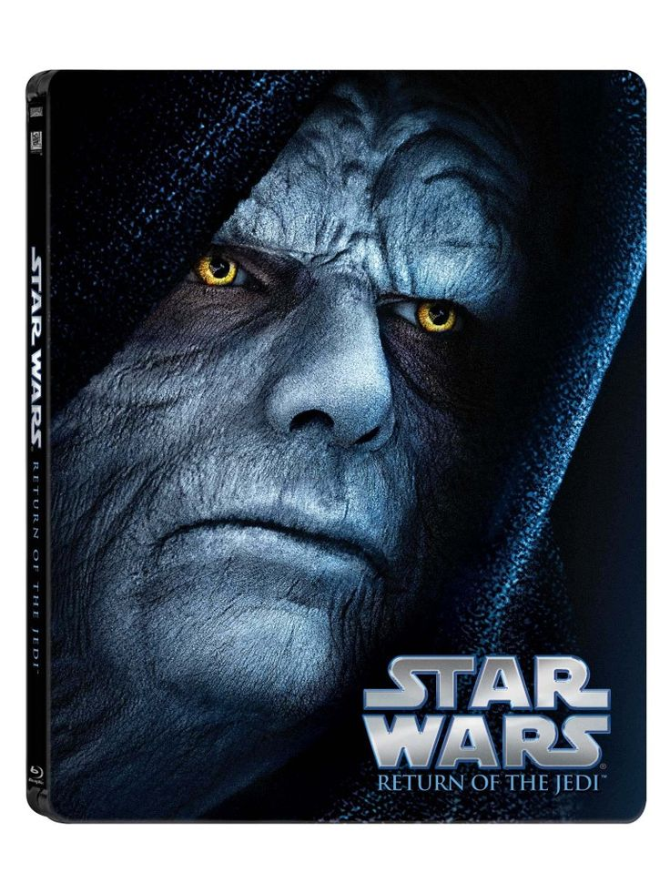The STAR WARS Saga Gets The Blu-ray Steelbook Treatment This November--Episode VI: Return of the Jedi.