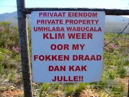 Image result for crazy south african signs