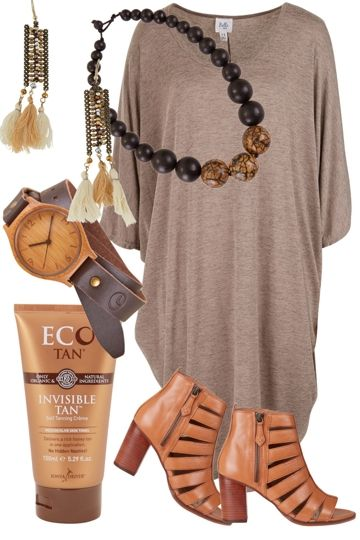 Ochre Girl Outfit includes Belle bird, RMK, and ECO Tan at Birdsnest