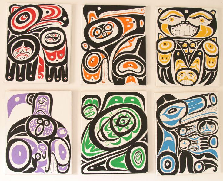 Kuchera Art  Seattle Six 16 x20 paintings  Kathleen Kuchera