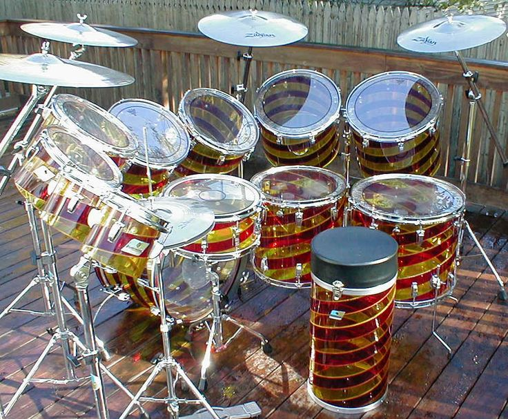 Best Drummers Images On Pinterest Drum Sets Percussion And - Putting paint on a drum kit creates an explosive rainbow
