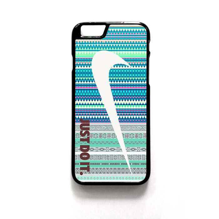 Just Do It Nike Aztec Blue Patern For Iphone 4/4S Iphone 5/5S/5C Iphone 6/6S/6S Plus/6 Plus Phone case ZG