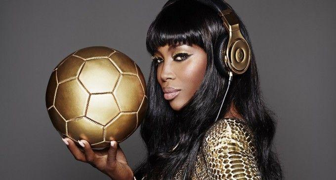 Beats by Dre fait appel à Naomi Campbell pour séduire les champions du monde