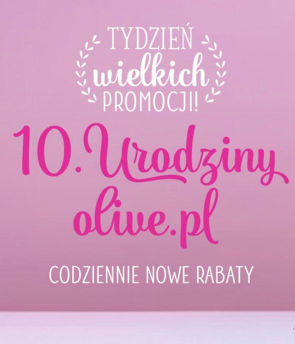 Tydzień mega PROMOCJI urodzinowych! zapraszamy na naszą stronę i na naszego facebooka ➢ Bądźcie na bieżąco! ✂✂✂ #olive #promocje #wyprzedaż #rabaty #urodziny