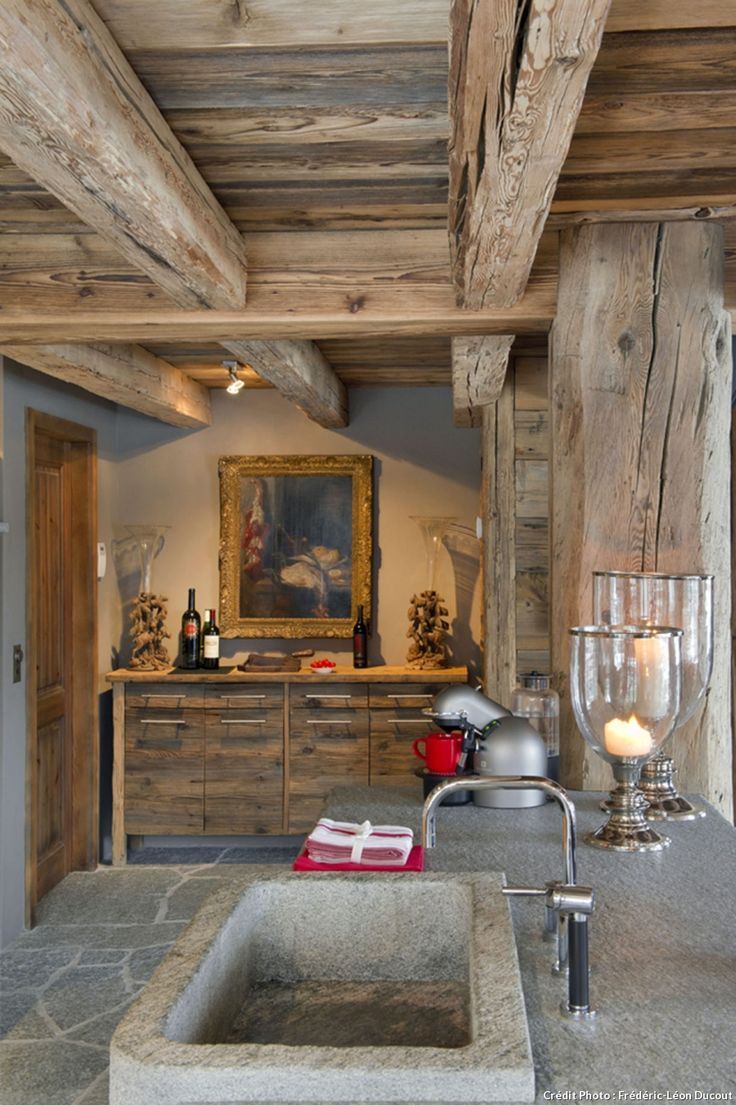 1000 id es sur le th me chalet montagne sur pinterest for Decoration maison de montagne