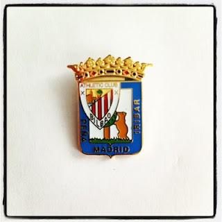 Pin Peña Athletic Club Iribar de Madrid. Pins Esmaltados.