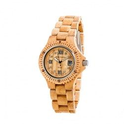 It's time to go Green! TENSE Women's Compass Wood Watch in beautiful beige. This unique accessory has a natural aesthetically pleasing appearance, made from natural eco materials.