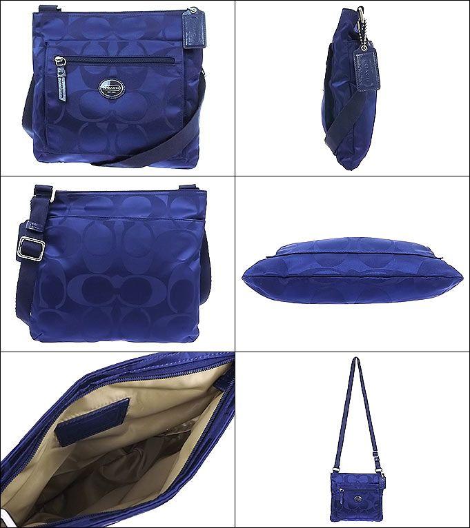 "Cartera COACH  Modelo: F77408  Material: NYLON  Color: Morado  Medidas: 10"" (L) x 9 1/4"""" (H)  http://articulo.mercadolibre.cl/MLC-415293772-carteras-coach-100-originales-_JM"