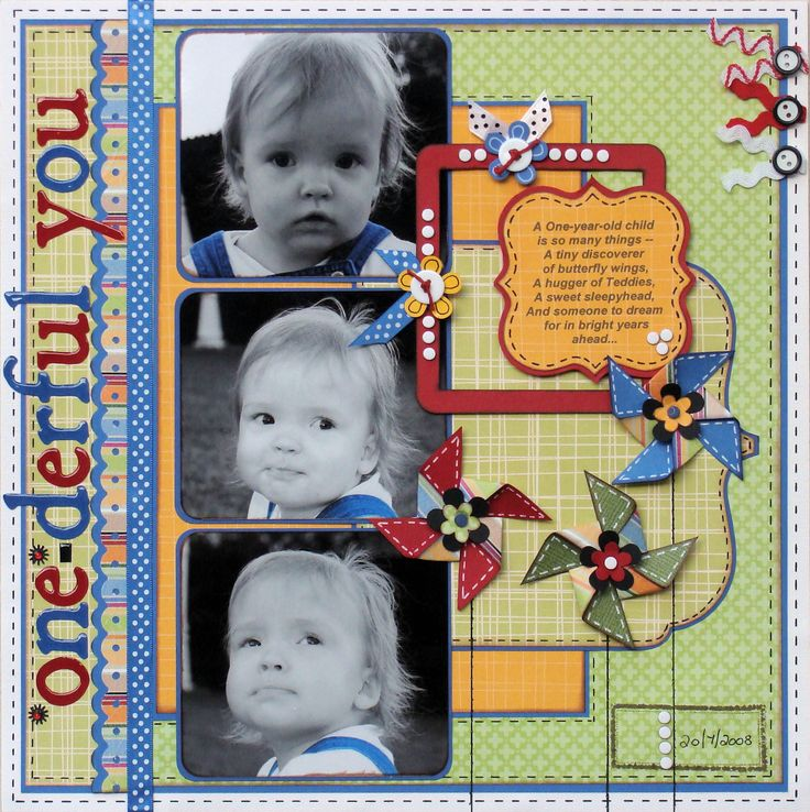 Layout: One-derful You