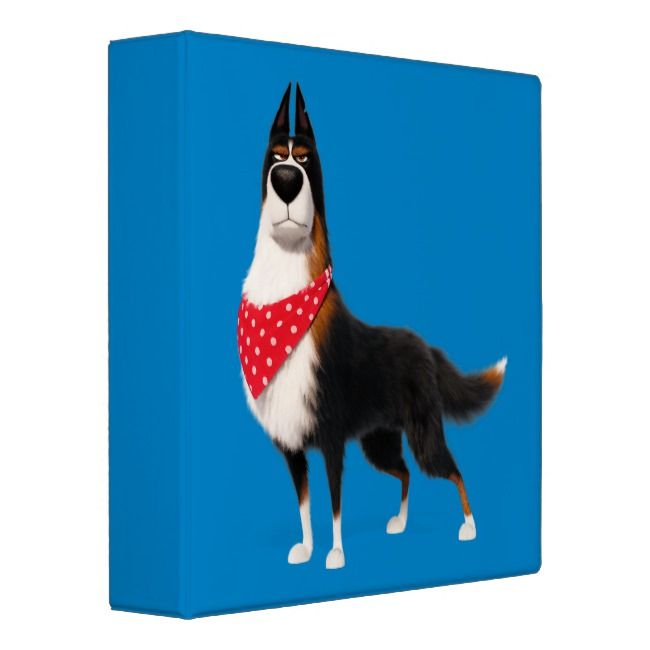 Secret Life Of Pets Rooster 3 Ring Binder Zazzle Com Secret Life Of Pets Pets Movie Pets