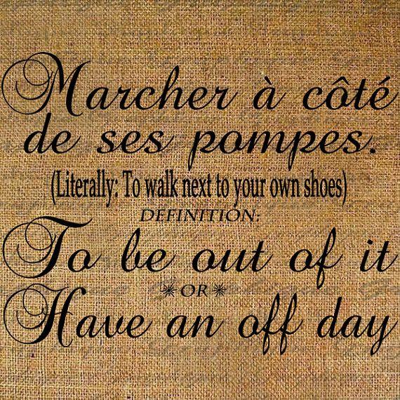 French saying