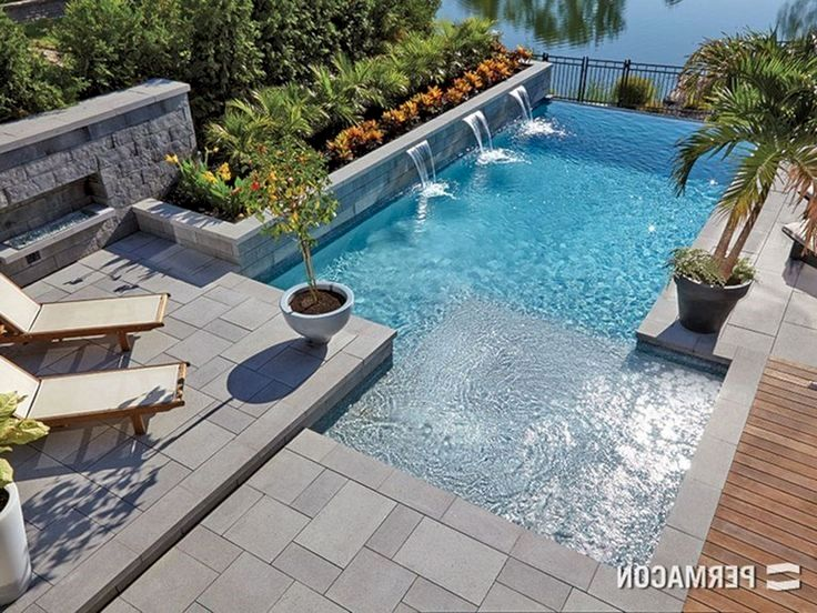 Outdoors Pools Can Vary In Dimensions Shapes And Extra Layout A Pool Is Not Climate Friendly Backyard Pool Designs Backyard Pool Landscaping Backyard Pool