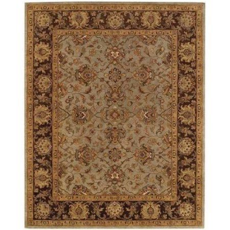 Monticello Meshed Hand-Tufted Area Rug, Green