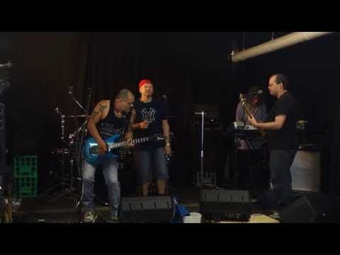 Eff rehearsing - Funky town, Pseudo Echo's version. - YouTube