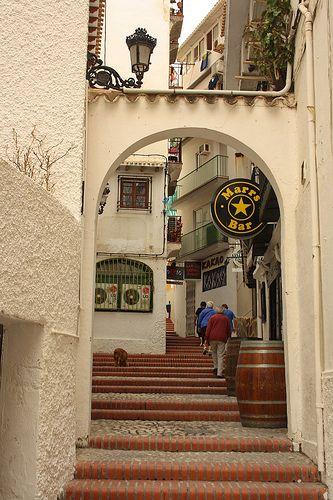 Benidorm Old Town, Spain