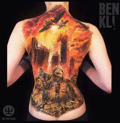 Zombie Apocalypse Tattoo http://tattooideas247.com/zombie-apocalypse/