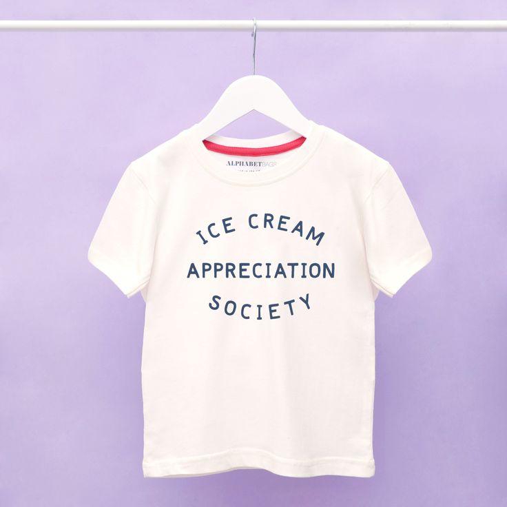 & # 39; Ice Cream Appreciation Society & # 39; Das T-Shirt des Kindes   – Products