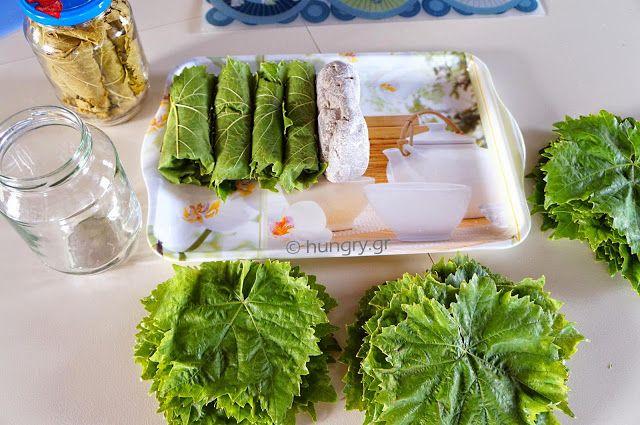 Kitchen Stori.es: Συντήρηση Αμπελόφυλλων