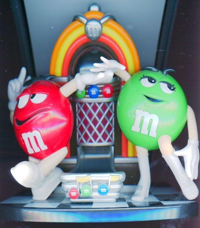M Juke Box / Rock & Roll M & M Candy Dispenser
