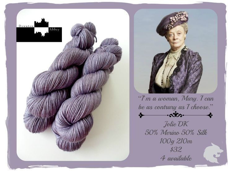 I am a woman, Mary. I can be as contrary as i choose - Downton Abbey / Red Riding Hood Yarns