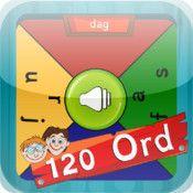 TRÆNING: I 120 Ord Multiplayer træner eleverne de 120 Ord. Eleverne kan kan øve og spille selv eller med op til 3 andre på samme tid på samme iPad. Appen koster 13 kr.